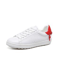 Casual Round Toe Bandage Deep Skate Shoes