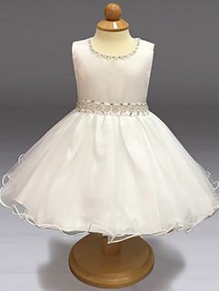 Noble Studded Fluffy Gauze Girls Party Dresses