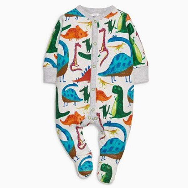 Cozy Carton Printed Long Sleeve Baby Jumpsuits ( 3-4 Days Delivery )