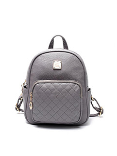Outlet College Style Zipper Backpack