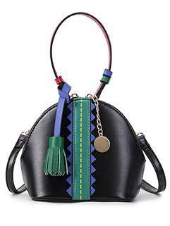 Korean Style Tassel Mini Shell Bag