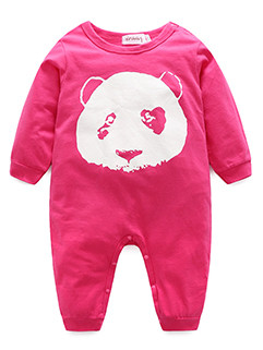 Baby The Garment Carton Panda Printed Jumpsuit (3-4 Days Delivery)