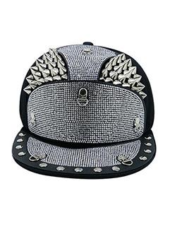 Hip Hop Style Rivet Diamond Cap
