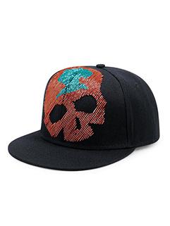 Chic Bead Tube Skull Pattern Baseball Cap