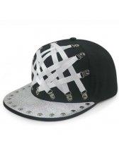 Euro Punk Style Hip-hop Baseball Cap for Man