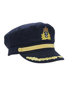 Britain Style Grain Embroidered Captain Cap