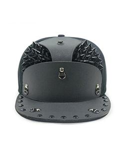 Armor Rivet Punk Style Street Cap