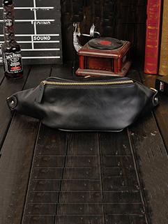 Hot Selling Solid Zipper Waist Bag