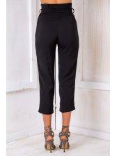 New High Waist Ninth Straight Pants