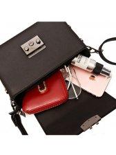 Online Buy Concise Solid Shoulder Bag