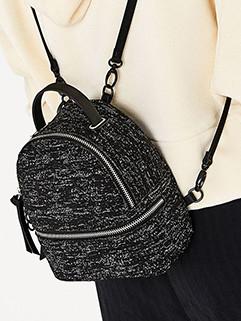 Easy Match Zipper Double Shoulder Bag 3-4days Delivery