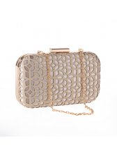 Delicacy Hollow Out PU Party Bag for Women
