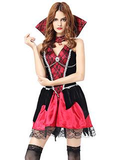Sexy Deep V Halloween Vampire Costumes