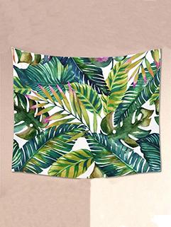 New Style Leaf Printing Cheap Bohemia Beach Blanket