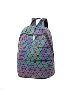 Fashion Large Capacity Geometric Luminous Travelling Backpack