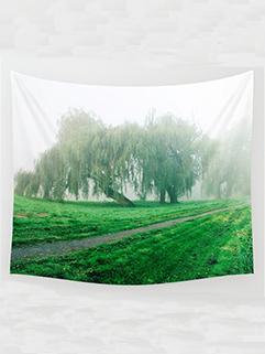 Rural Printed Fresh Yoga Bohemia Beach Blanket