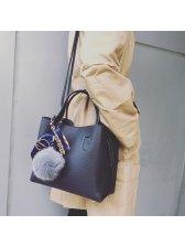 New Fluffy Bulk Design Easy Match Shoulder Bags