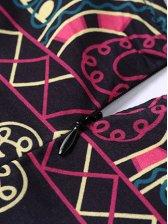 Stylish Long Sleeve Floral Maxi Dress