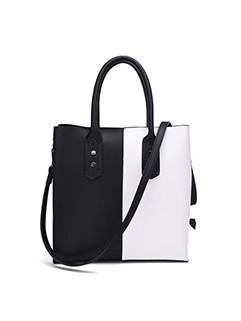 Outlet Fashion Contrast Color Crossbody Bag