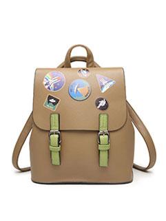 Japan Style Prints Hasp School Bag