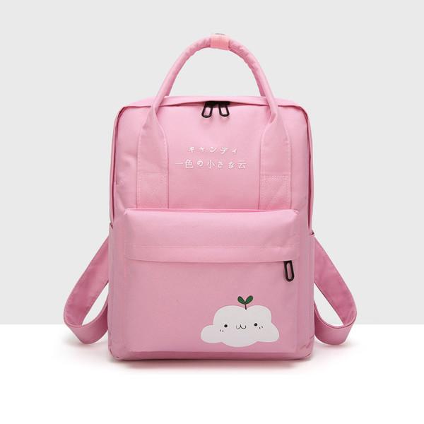 Japan Style Versatile Prints Travel Backpack