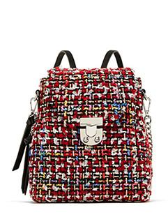 Fresh Color Blend Hasp Double Shoulder Bag 3-4 Days Delivery