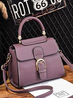 Fashion Hasp Zipper OL Elegant Shoulder Bag (3-4 Days Delivery)