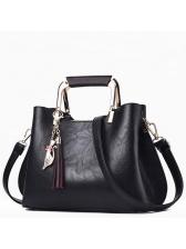 Fashion Zipper Fringe Women Handle Bag (3-4 Days Delivery)
