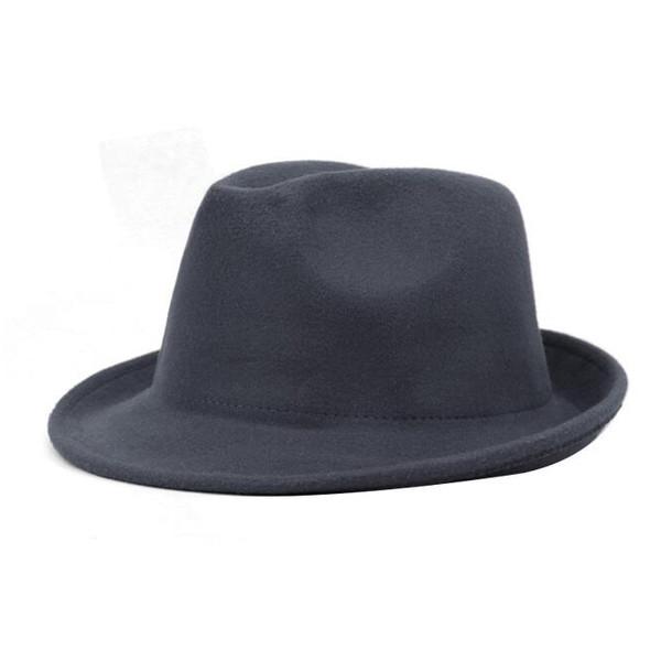 British Vintage Style Woolen Casual Hats