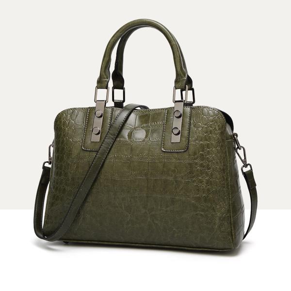 Euro Style Crocodile Pattern Handbag For Women
