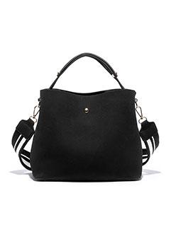 Simple Design Solid Cheap Open Shoulder Bag