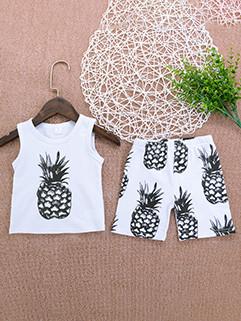 Cheap Printing Sleeveless Baby Suit