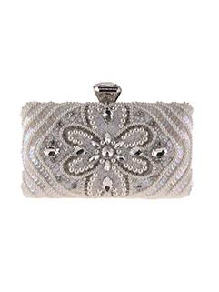 Fashion Beading Diamond Decor Party Clutch Bag
