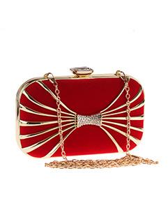 Chic Simple Design Diamond Hardness Clutch Bags