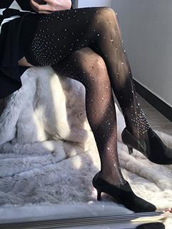 Hot Selling Drilling Velvet Leggings for Women