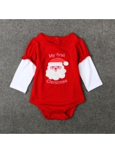 Lovely Father Christmas Infant Onesie