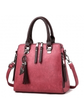 Euro Vintage Fringe Zipper Handle Bag for Women (3-4 Days Delivery)