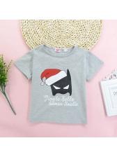 Lovely Printing Short Sleeve Infant Set