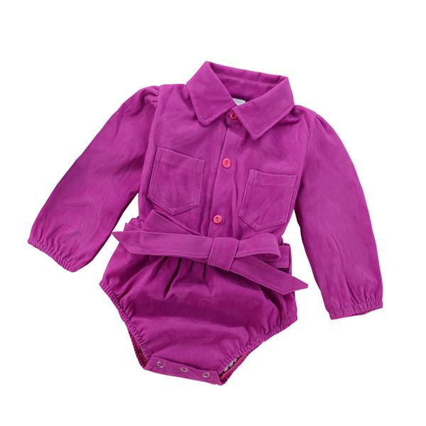 New Arrival Winter Long Sleeve Infant Onesie