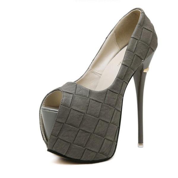 All Match Ladies Super High Heels Stiletto Pumps