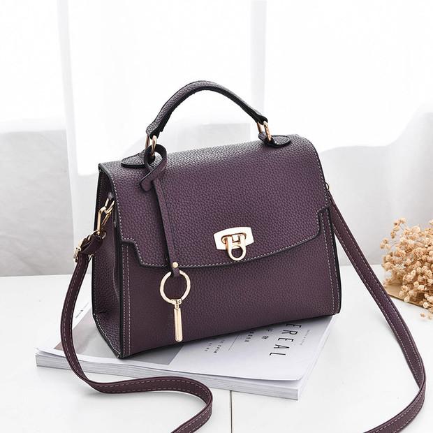 Wholesale Cheap Hasp Square Shoulder Bag (3-4 Days Delivery)