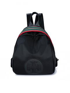Korean Contrast Color Zipper Oxford Backpack