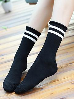 Japanese Striped Vintage Heap Socks