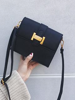 New Hasp Easy Match Simple Mini Shoulder Bag