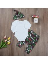 Long Sleeve Onesie With Pants Infant Boy Set