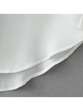 Solid Chiffon V Neck Sleeveless Tank Design(3-4 Days Delivery)