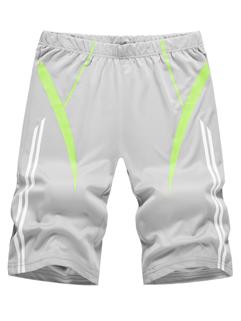 Color Block Stripe Summer Short Pant