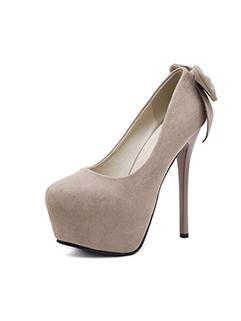 Sexy Platform Bow Stiletto High Heel For Women