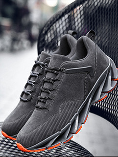 Hot Sale Lace Up Suede Leisure Sneakers
