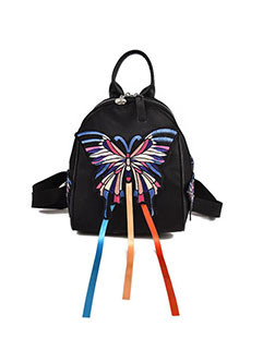Fashion Butterfly Stereo Zipper Backpack